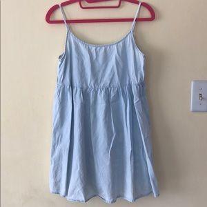 American apparel light denim dress